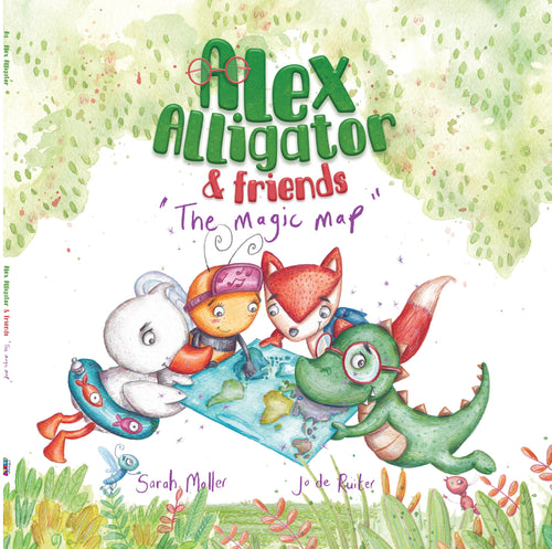 Alex Alligator & Friends Book