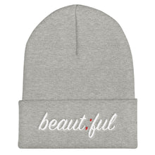 Load image into Gallery viewer, beautiful ; Embroidered Cuffed Beanie