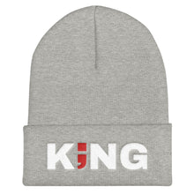 Load image into Gallery viewer, KING ; Embroidered Cuffed Beanie