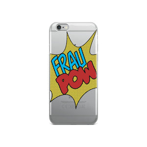 Frau Pow ; iPhone Case