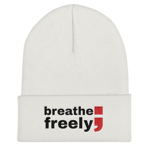 breathe freely (Version 2) ; Cuffed Beanie