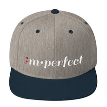 Load image into Gallery viewer, im•perfect ; Embroidered Snapback Hat