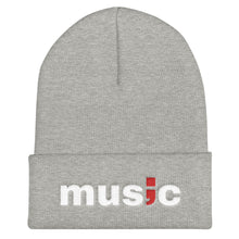Load image into Gallery viewer, music ; Cuffed Beanie