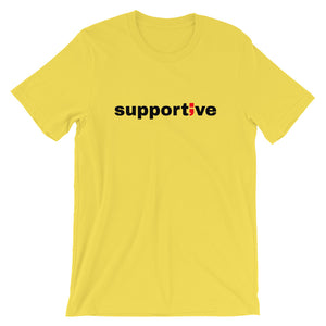 supportive ; Short-Sleeve Unisex T-Shirt