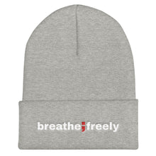 Load image into Gallery viewer, breathe freely ; Cuffed Beanie