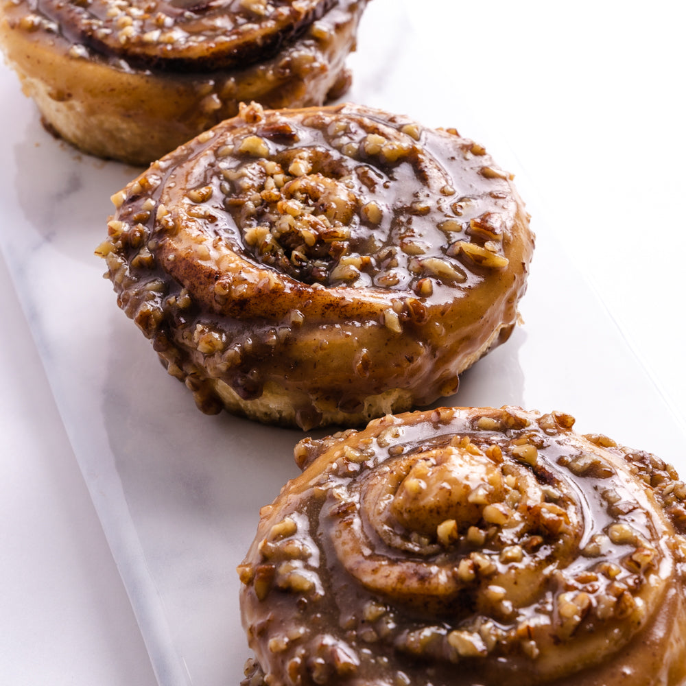 Cinnamon Rolls by the Dozen