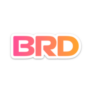BRD Stickers (3 Pack)