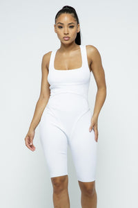 Nina Romper - Off White