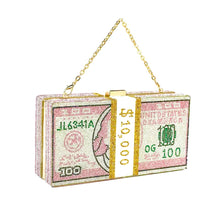 Load image into Gallery viewer, Money Baby Clutch - Pink