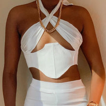 Load image into Gallery viewer, Kami Crop Top - Ivory