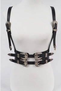 Faux Leather Harness 2