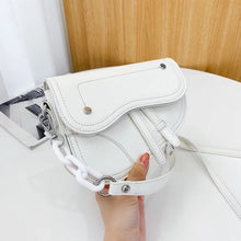 Load image into Gallery viewer, Saddle Bag - White (SHIP DATE 09/30)