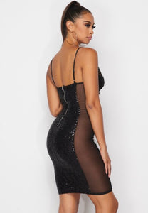 Marina Bodycon Dress - Black