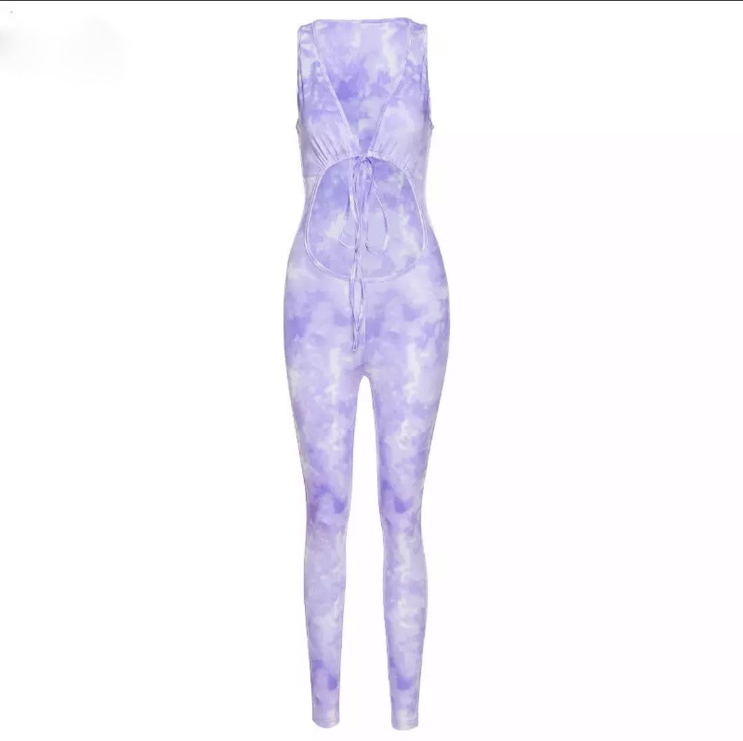 Shae Jumpsuit - Purple