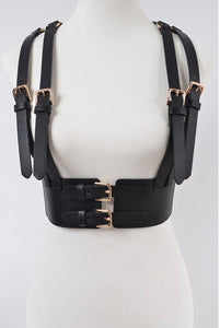 Faux Leather Harness 4