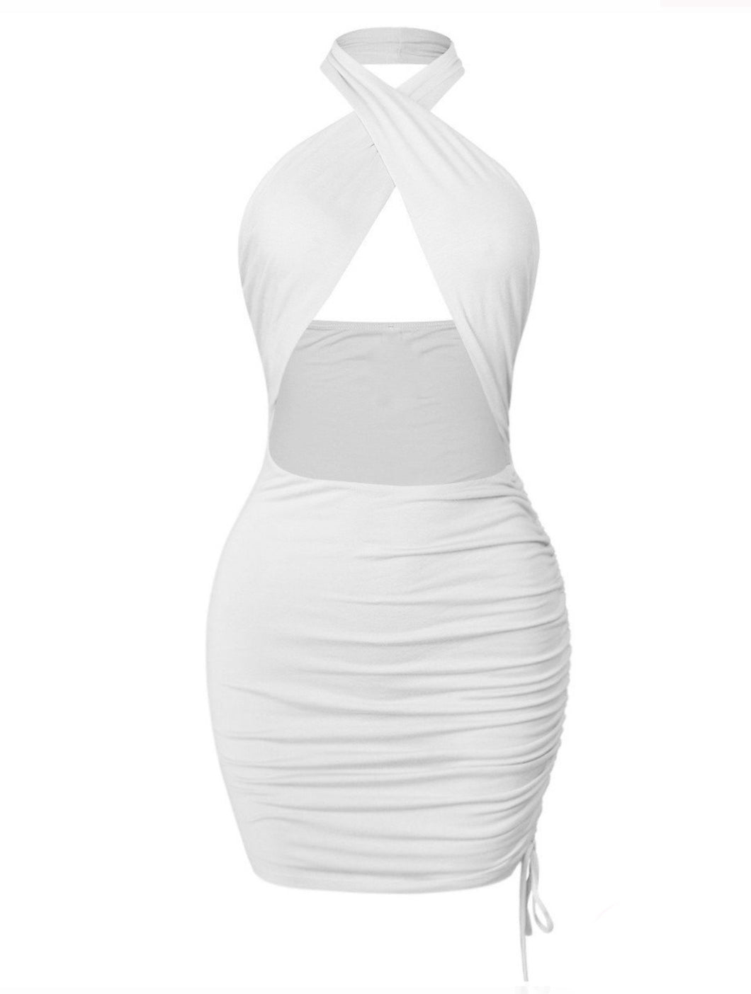 Brionne Dress - Ivory