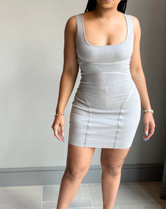 Dasia Mini Dress - Grey