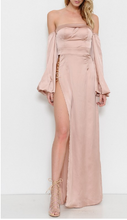 Load image into Gallery viewer, Marcia Satin Dress - Rose
