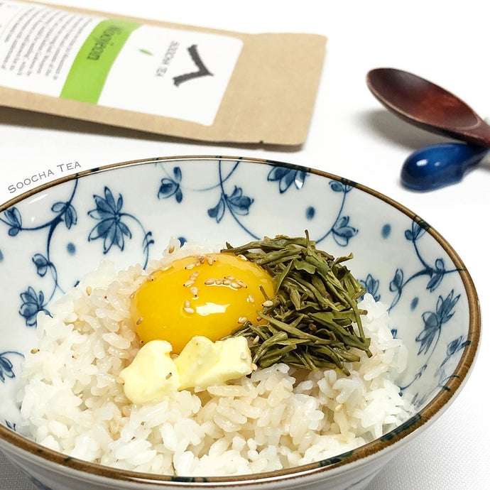 Soy Sauce Butter Egg Rice with Woojeon