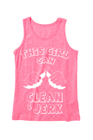 This Girl Can Clean & Jerk - Women's Tank