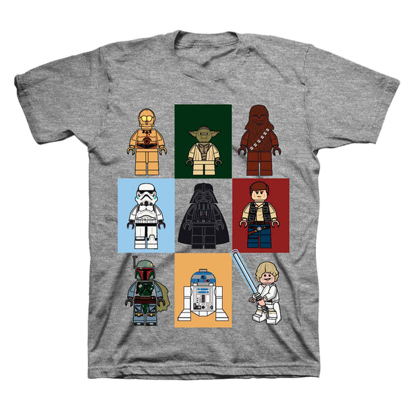 Star Wars Lego Little /& Big Boys Character T Shirt