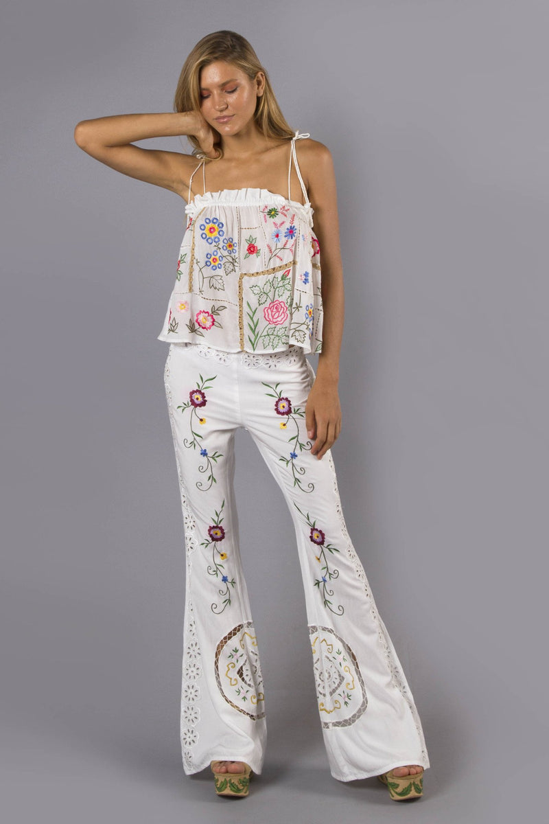 'PATCHWORK PEOPLE' CAMISOLE