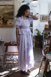 Counting Clouds Maxi Dress in Pale Lilac