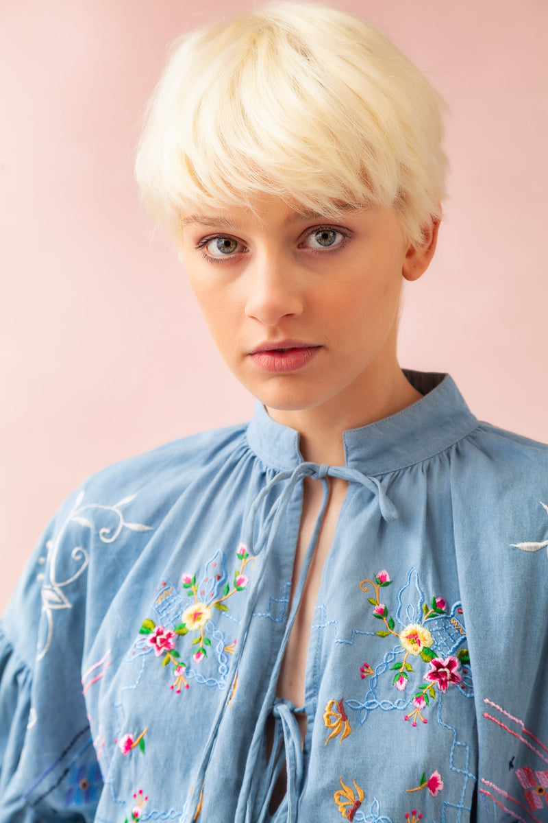 Dream In Colour - Blouse in Chambray