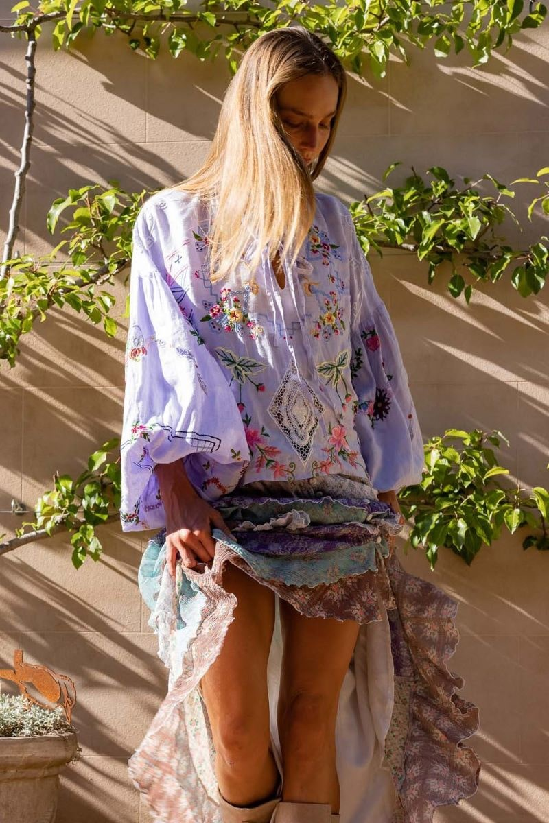 Dream In Colour - Blouse in Baby Lavender