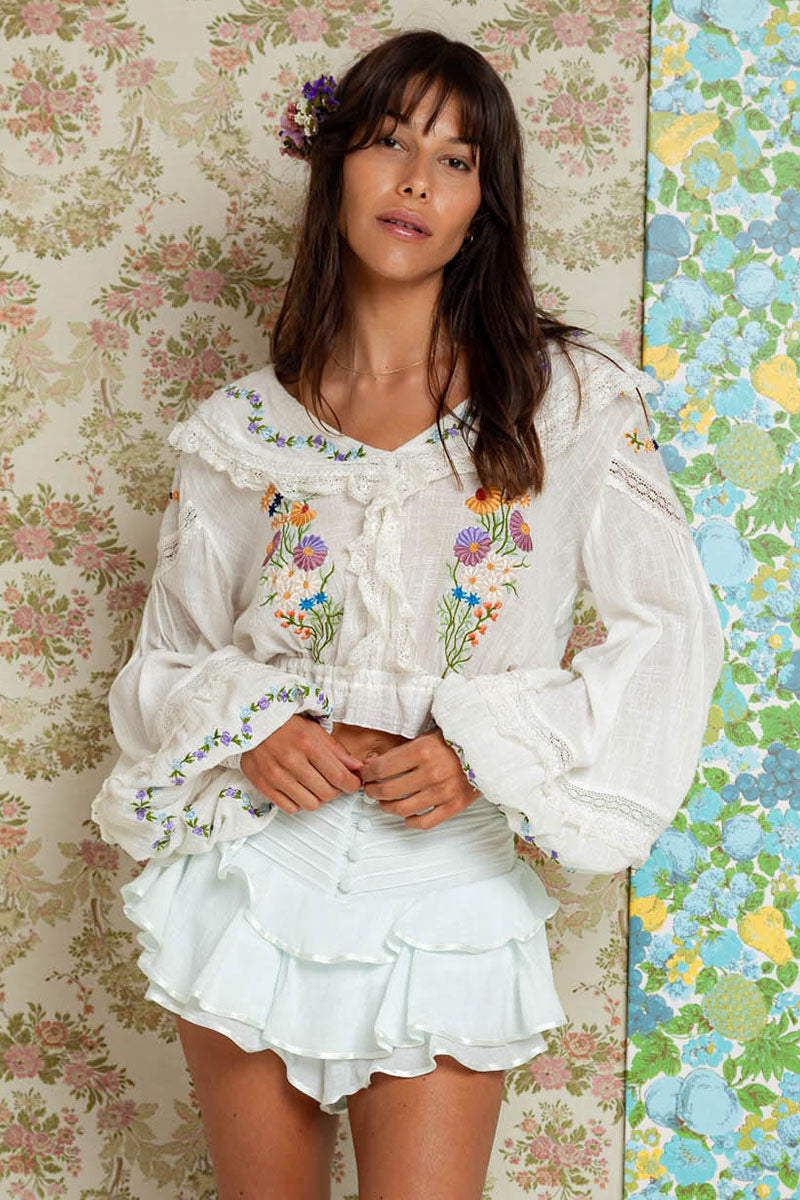 Daisy Folk - Sailor Blouse