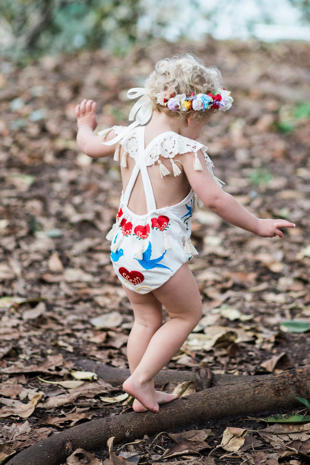 Fillyboo Mini - 'Little Bear' Playsuit