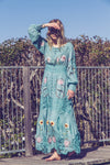 'MY NAME IS ROSE' - EMBROIDERED DUSTER/MAXI DRESS