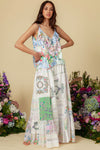 Sweet Pea - Patchwork Maxi Skirt