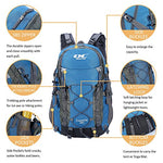 Diamond Candy Hiking Backpack Waterproof 40l Outdoor Backpacks for Men and Women with Rain Cover