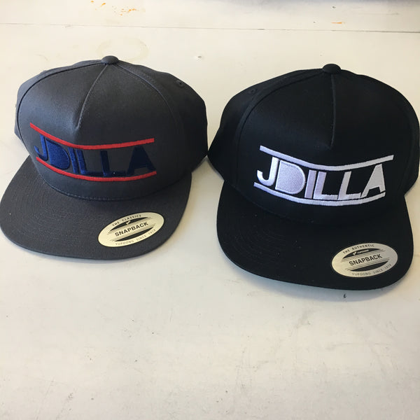 J Dilla Snapback Embroidered Hat