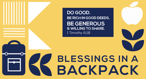 Donate to Blessings in a Backpack