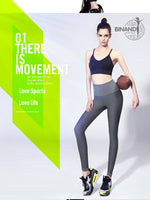 Quick Dry High Rise Solid Yoga Pants