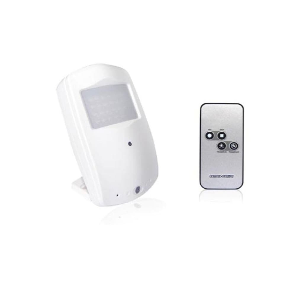 Hidden Spy Camera Motion Sensor Remote Control Records 720p Video Cam