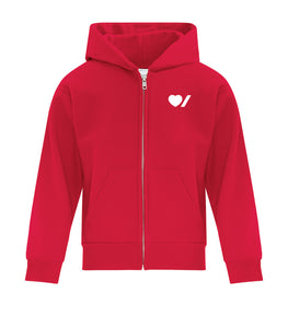 Heart & Stroke Youth Zip-Up Hoodie