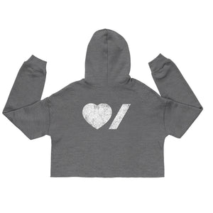 Heart & Stroke Ladies Cropped Hoodie