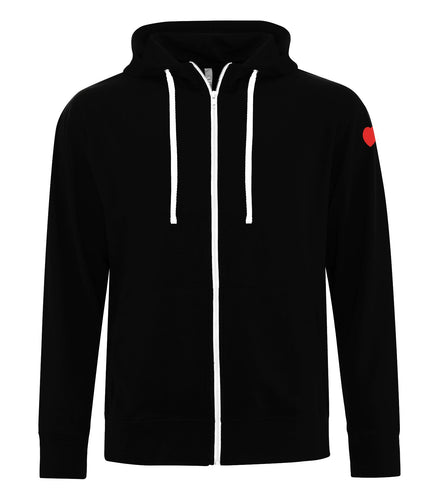 Heart & Stroke Classic Adult Unisex Zip-Up Hoodie