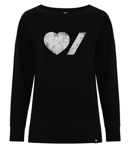 Heart & Stroke Limited Edition Ladies Sweatshirt