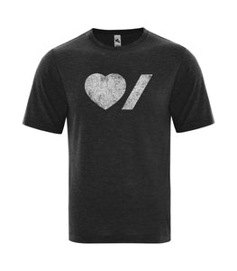 Heart & Stroke Limited Edition Distressed Adult Unisex Tee