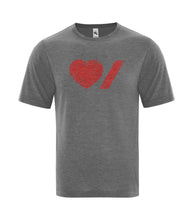 Load image into Gallery viewer, Heart & Stroke Limited Edition Distressed Adult Unisex Tee