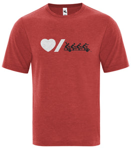 Heart & Stroke Big Bike Custom T-Shirt