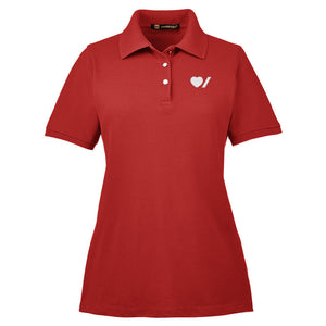 Heart & Stroke Ladies Polo Tee