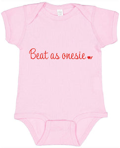 Heart & Stroke Limited Edition Beat as Onesie Infant Bodysuit