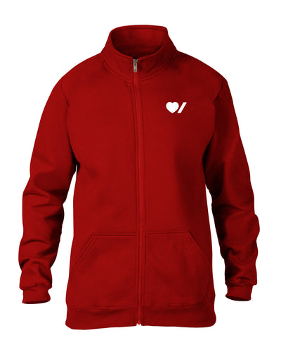Heart & Stroke Made in Canada Zip-Up Sweatshirt
