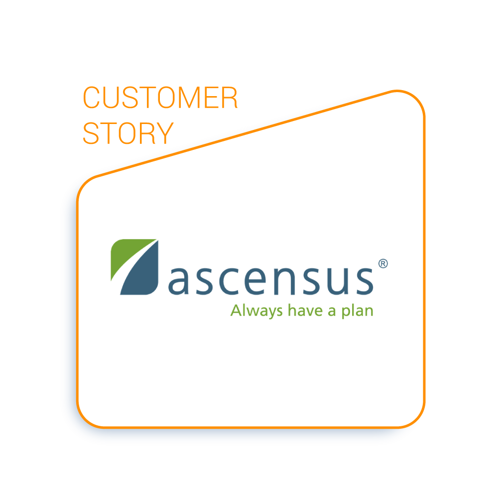 Ascensus completes 1-2 deals per month & evaluates +2,000 targets