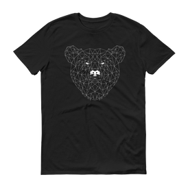 Men's Black T-Shirt with BEAR Design